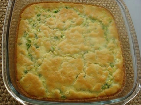 torta e sufle de abobrinha - Receitinhas da Vovo