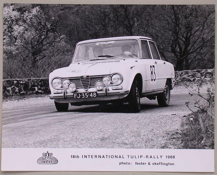 Tulpen Rally 1966 Ballon d' Alsace