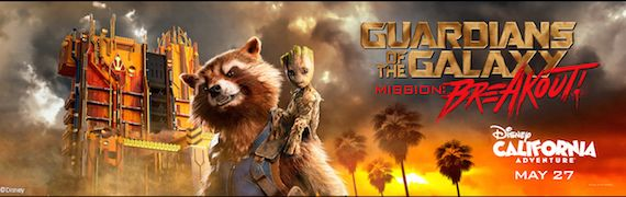 Guardians of the Galaxy – Mission: BREAKOUT! is now open at Disneyland California Adventure Theme Park at Disneyland Resort!   #Disney #DisneyCaliforniaAdventurePark #Disneyland #GuardiansoftheGalaxy #Marvel #GotGVol2