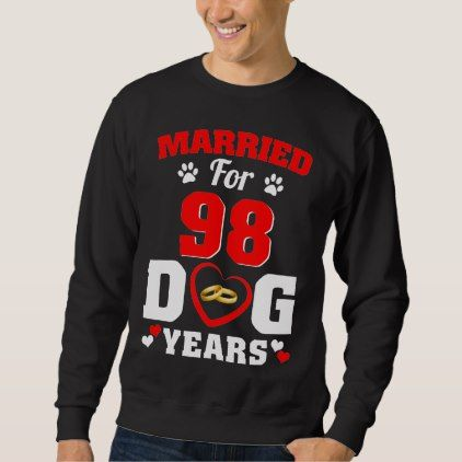 #wedding - #14th Wedding Anniversary T-Shirt For Dog Lover.
