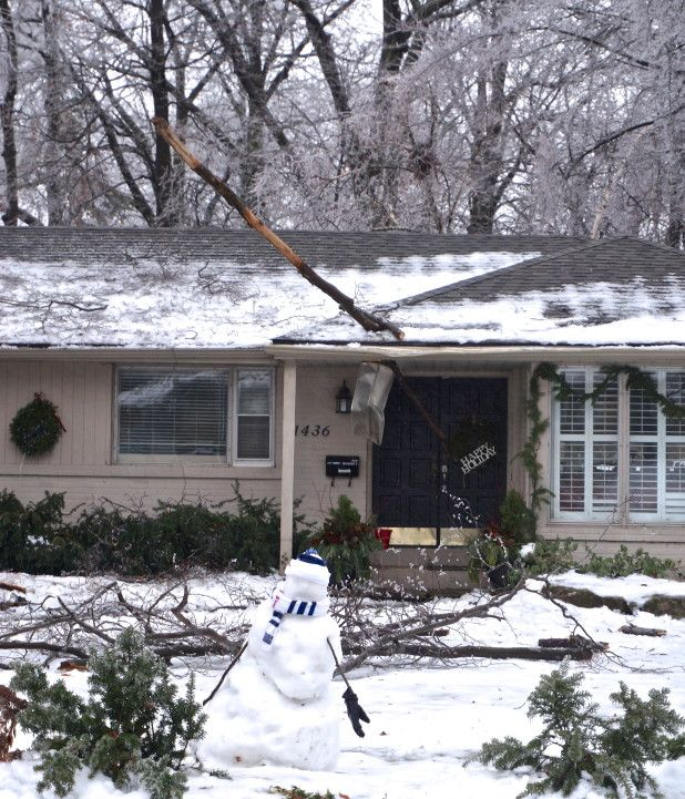Storm cleanup will continue over Christmas holidays