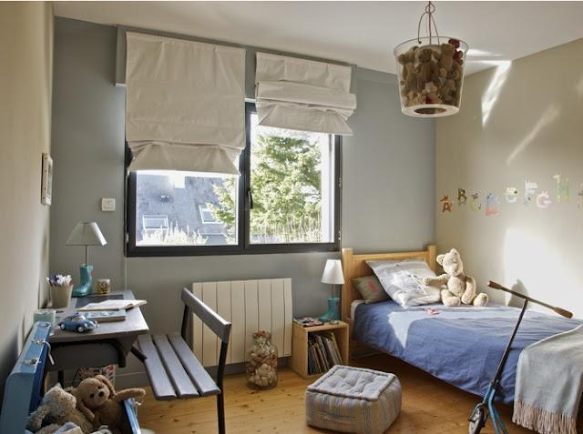 Teddy bear light fixture? I'm intrigued...Boys Bedrooms, Little Boys Room, Kids Room, Boys Decor, Boy Rooms, French House, Colors Schemes, Chambre Garçon, Nursery