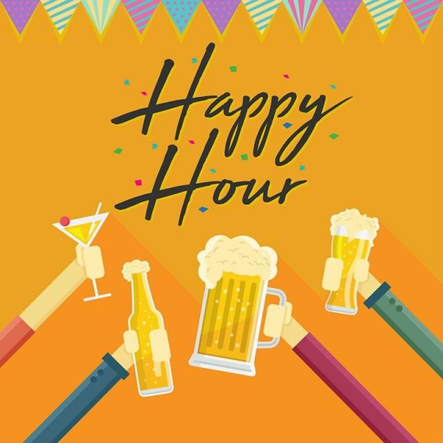 Modern Beer Happy Hour Card Illustration Beer Pub Bar Png And Vector With Transparent Background For Free Download Card Illustration Happy Hour Happy Hour Beer