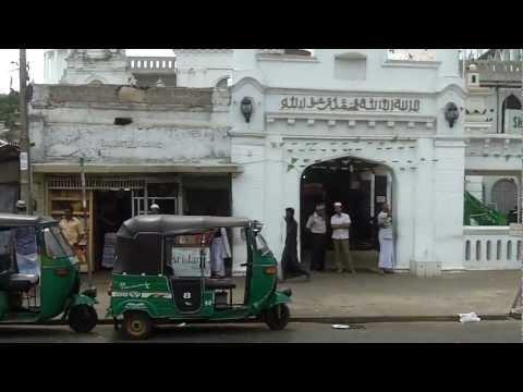 Spacer ulicami starego Kolombo