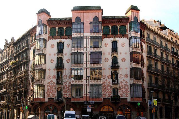 17 mejores im genes sobre arquitectura orientalista en - Trabajo arquitecto barcelona ...