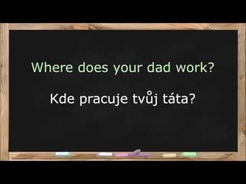 Learn Czech Language. Czech Lessons for Beginners. Common Words & Basic Phrases - Lesson 1 - YouTube