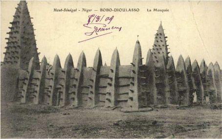 La mosquée de Bobo-Dioulasso (Burkina-Faso)