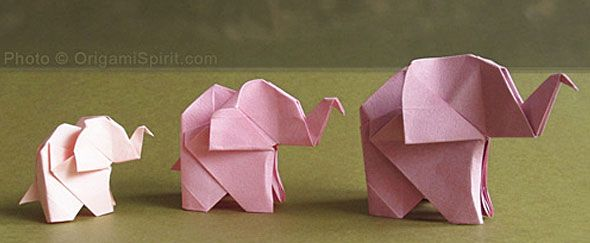 HOW TO MAKE AN ORIGAMI ELEPHANT (Featured on new site for teen girls- Birdeemag!)