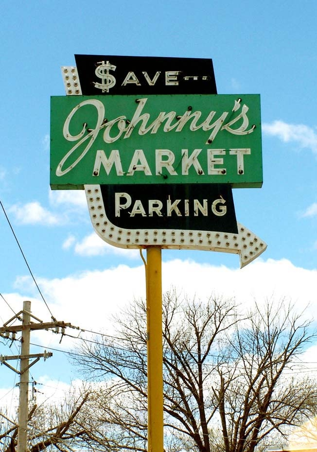 Johnny's Market (St. Louis, MO).  Down the hill from where we lived on Sappington Rd. Closed now..history!
