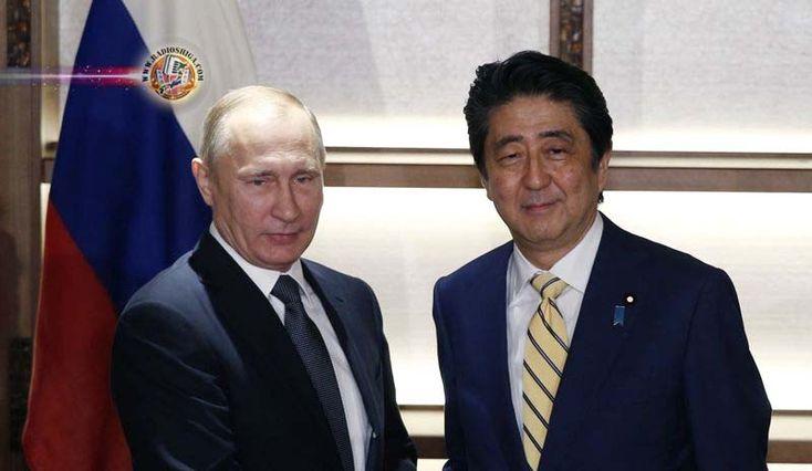 Abe terá conversações com Putin. O primeiro-ministro do Japão, Shinzo Abe, deve buscar a cooperação da Rússia para aplicar mais pressão sobre a Coréia do No