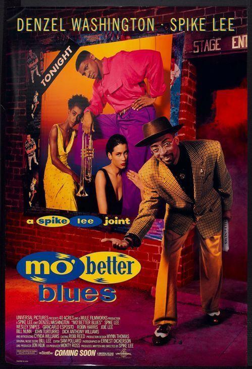 MO BETTER BLUES - 2000 - orig 27x40 movie poster - SPIKE LEE, DENZEL WASHINGTON