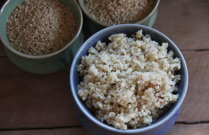 Receta Quinoa Cocida www.cherrytomate.com