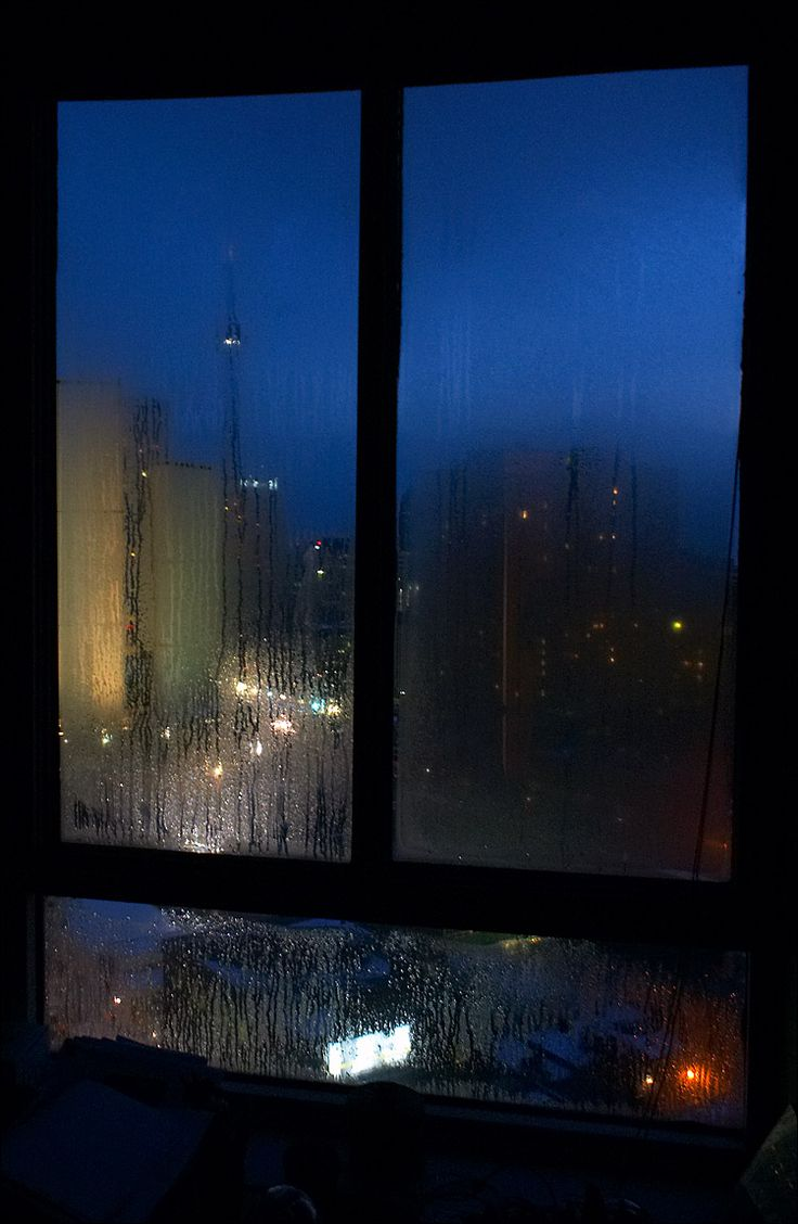 through wet window || canon 300d/ef-s 18-55 | 0.3s | f8 | ISO 800 | handheld / Daily Dose of Imagery