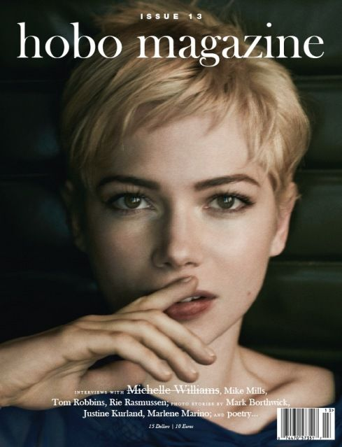 Michelle Williams by Mark Segal for Hobo Magazine Issue 13