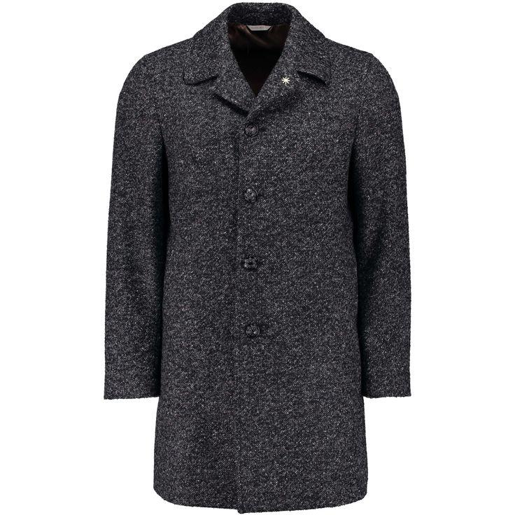 MANUEL RITZ Mantel in melierter Optik ► Der Mantel von MANUEL RITZ ist mit seiner schlichten Silhouette und dem melierten Wollmix ein zeitloser Begleiter, der sich chic wie casual kombinieren lässt. Geprägte Knöpfe sowie der abnehmbare Zierbutton des Labels geben dem Look ein individuelles Finish.
