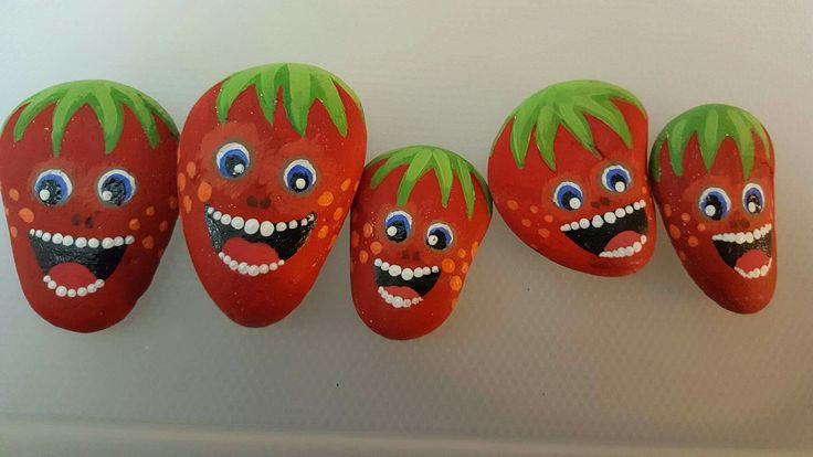 Strawberries by Jessica Holmstrom Clark