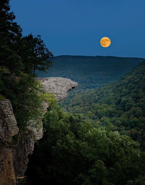 Hawksbill Crag, Upper Buffalo Wilderness, Ozark National Forest, Arkansas.  