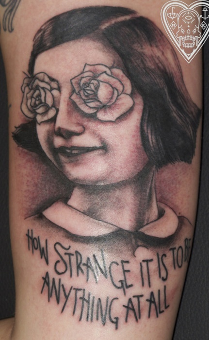 i never get tired of neutral milk hotel tattoos..