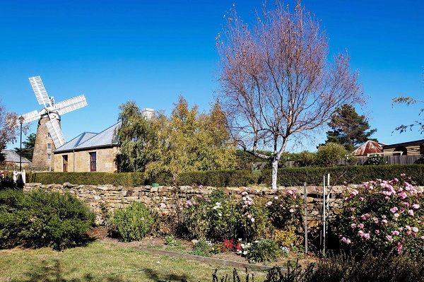 Callington Mill in #Oatlands #HeritageHighway #Tasmania photo by Carol Haberle and article for think-tasmania.com