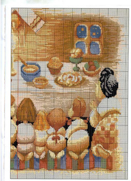 Схеми вишивок на святкову тематику ( Паска, Різдво, Новий Рік тощо) !