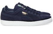 Blauwe Puma schoenen Suede Classic sneakers