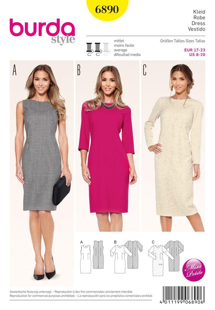B6890 - Dresses - Burda Patterns