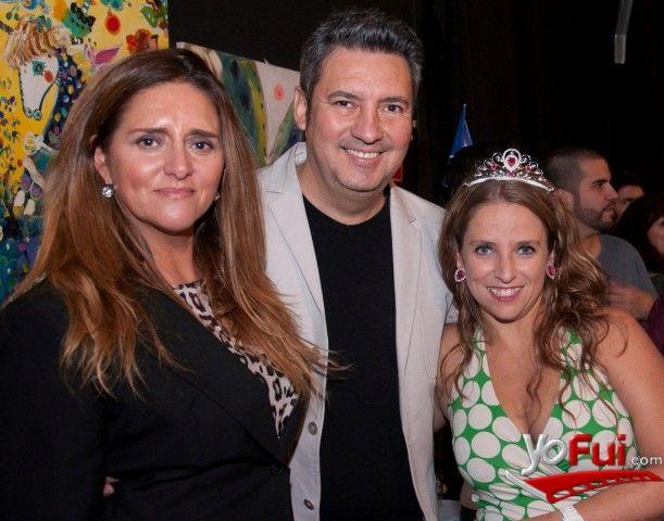 YoFui.com: Leonore Alonso, Rene Naranjo, Bernardita Ruffinelli en Estreno de Maldito Disney, Sala La Troupe, Santiago (Chile)