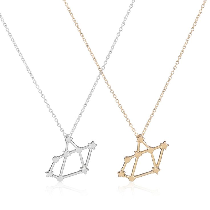 2016 New Trendy Necklace Sagittarius Zodiac Signs Astrology Necklace Constellation Necklaces for Women Birthday Party -N175