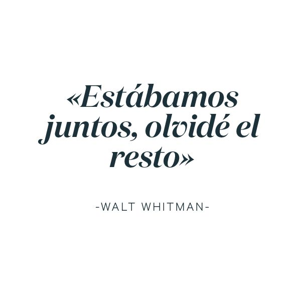 #LoveratoryQuotes #WaltWhitman #loveratoryquotes #lovequotes #poetryquotes #poetry #love #libros #paperisnotdead #paperslovers