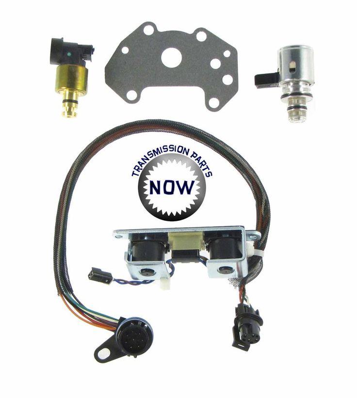 Dodge Jeep solenoid set 95-99 3-4 shift TCC pressure sensor & solenoid 12420BK #MoparBorgWarner