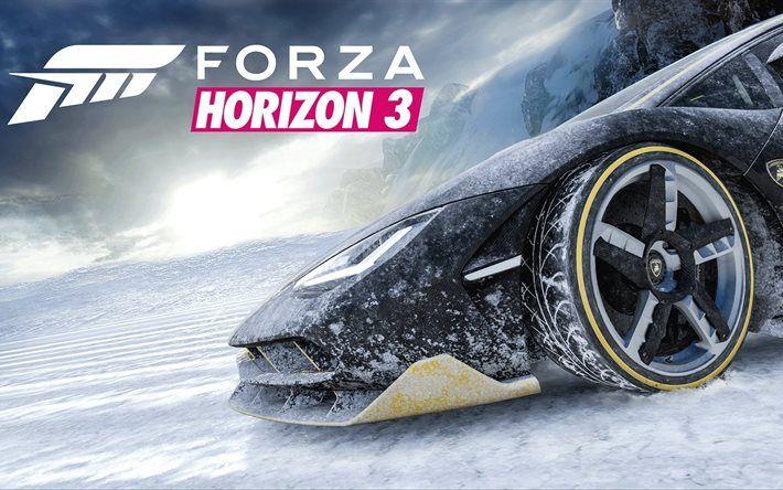 Forza Horizon 3, 2016, Lamborghini Centenario, driving games