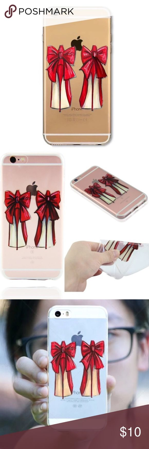 SOFT CASE FOR IPHONE 6 6S  BRAND NEW SOFT CASE FOR IPHONE 6 6S AND IPHONE 6 PLUS  BRAND NEW ❤️ PLEASE SELECT THE CORRECT SIZE Christian Louboutin Accessories Phone Cases