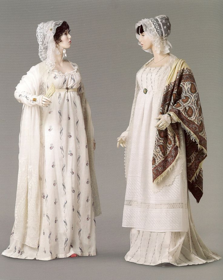 Jane and Elizabeth. 1808-09. From the exhibition Napoleon and the Empire of Fashion