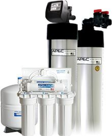 Total Solution 10 Whole House Water Filtration System - Complete Total Home Water Filter and Purification Package| APEC Water
