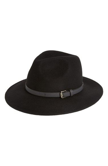 Free shipping and returns on Sole Society Wool Panama Hat at Nordstrom.com. Go boho, Western style or '70s glam in an instant with this ultra-versatile black wool panama hat.