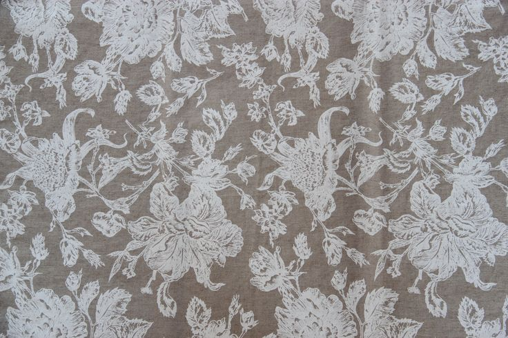 Linen Antique Rose white