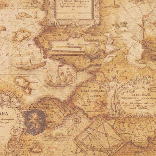 zeekaart Europa