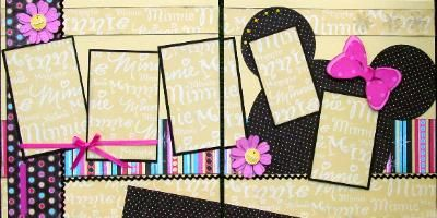 Scrapbook Page Kits 12x12 double page layouts from Lilly Pad Pages