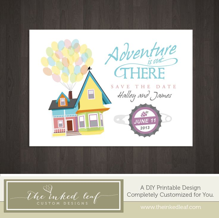 Up Themed Wedding Invitations Images Wedding Decoration Ideas