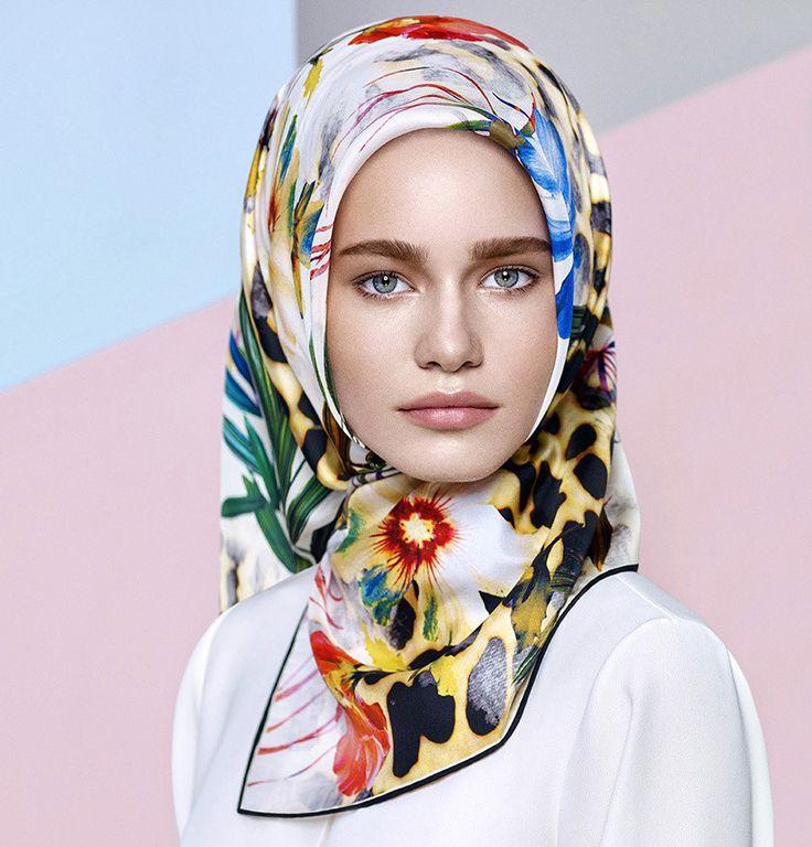 Aker Silk Hijab Scarf Spring Summer 2016 #6930 - Modefa USA LLC