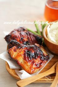 dailydelicious: Happy Cooking with LG SolarDom: Lemongrass Grilled Chicken