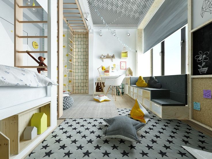inspiring modern kids room designs which brimming quirky and colorful decor inside - Kids Interior Design Bedrooms