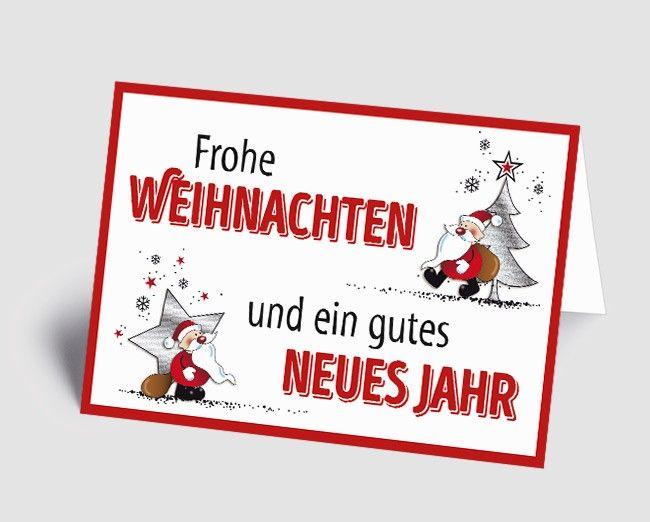 Weihnachtskarten Exklusiv.Weihnachtskarte 1518304 Illustrierter Weihnachtsmann