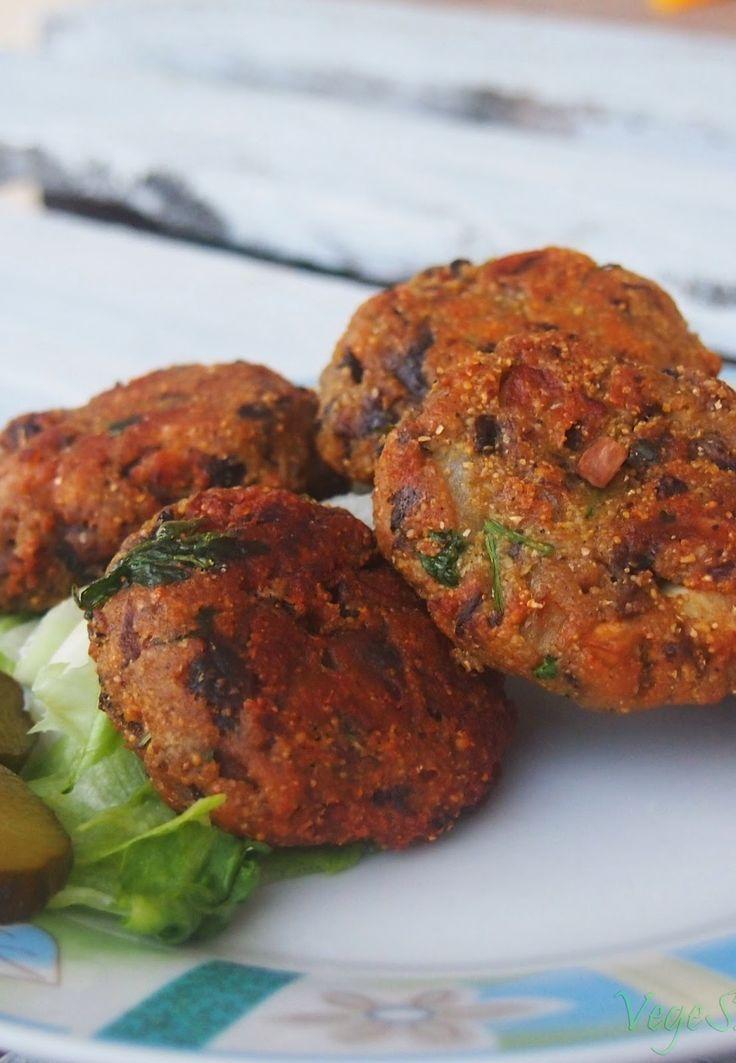 Vege Szamanka - kuchnia wegańska: Szybkie (i najlepsze) kotlety z pieczarek