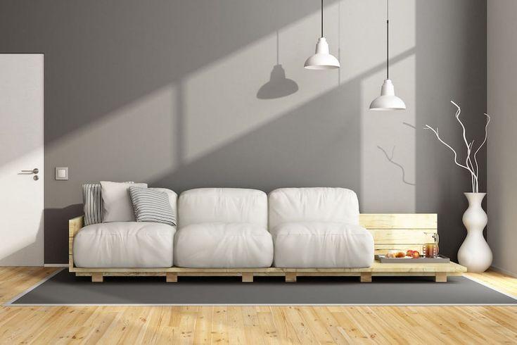 Oltre 25 fantastiche idee su divano pallet su pinterest - Divano pallet istruzioni ...