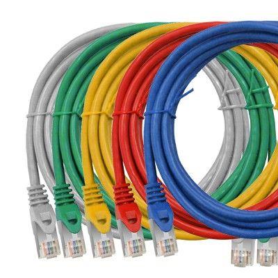 Cablu Schrack Cat.5, ecranat-FTP, RJ45, 1m