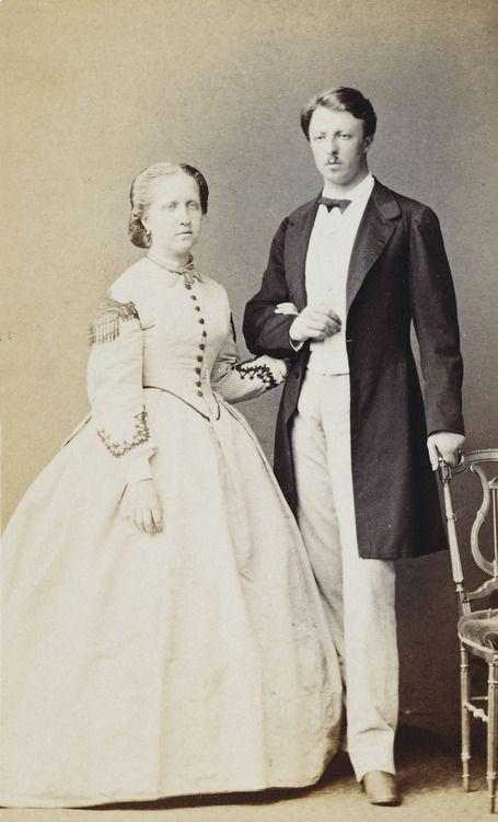 Princesa Isabel (Brasil) e o príncipe francês Louis Gaston d'Orleans Comte d'Eu