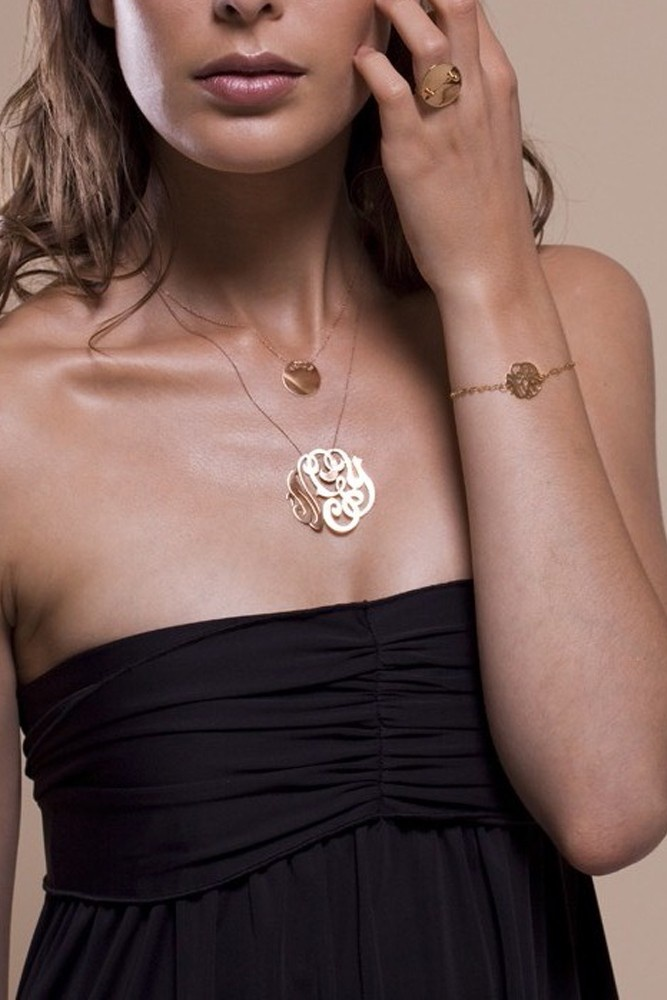 Collier Monogramme - ginette ny