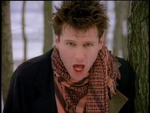 Corey Hart - Eurasian Eyes   Official Video--this must be sung loudly, with vivid Corey facial expressions, and 80's dance moves.