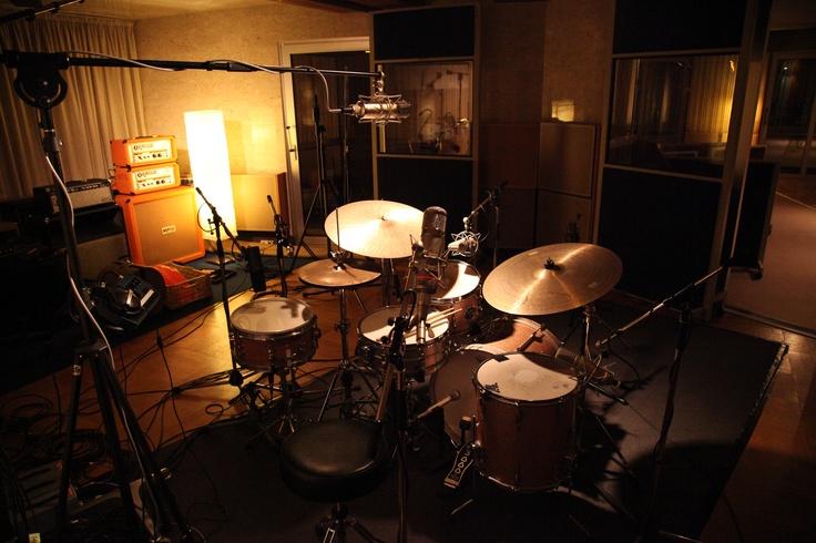 Sweet drum mic setup